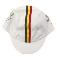 Cycling Cap Cotton White