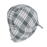 Winter Cap Pink Plaid