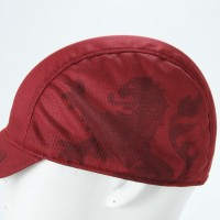 Cycling Cap Soft Visor Vintage Red