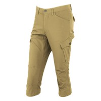 Stretch Cropped Pants Acid beige