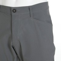 Stretch Cropped Pants Gray