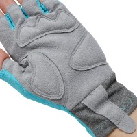 Cycling Gloves Melange Celeste