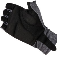 Comfort Cycling Gloves Charcoal Gray
