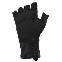 Cycling Gloves Belgium Flag Line Black
