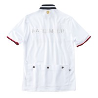 Short Sleeve Retro Cycling Jersey White
