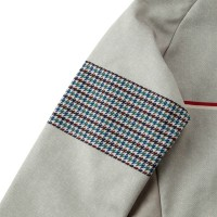 Premium Thermo Jacket V2 Nep Tweed Print Light Brown
