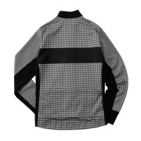 Racing Thermo Jacket Houndstooth Jacquard Printed Ivory