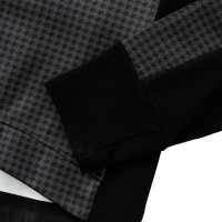 Racing Thermo Jacket Houndstooth Jacquard Printed Dark Gray