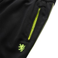 Track Pants Black x Shine Yellow