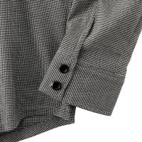 Long-Sleeve Cycling Jersey Shirt Monotone Houndstooth