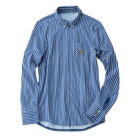Long-Sleeve Cycling Jersey Shirt London Stripe Blue