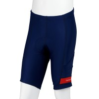 UV protection Cycling Shorts with Pockets Navy/Red