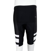 UV protection Cycling Shorts Black/White