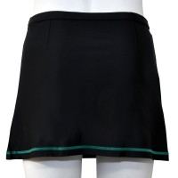 Stretch Cycling Skirt Black/Mint Green