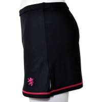 Stretch Cycling Skirt Black/Pink
