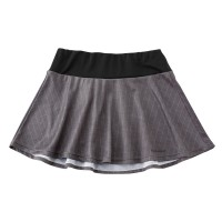 Flare Skirt Chalk Stripe Gray