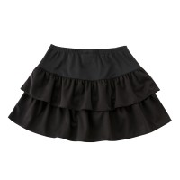 Tiered Skirt Black