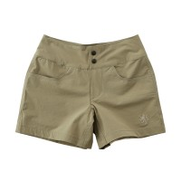 Women's Stretch Short Pants Acid Beige