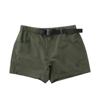 Women's Stretch Short Pants with Buckle Belt Olive