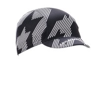 Cycling Cap Soft Visor Oblique Black