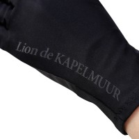 Long Finger Cycling Gloves Lion Black