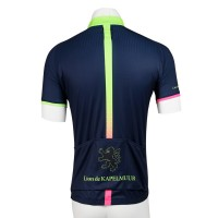 Short Sleeve Jersey Splash Navy/Shining Green
