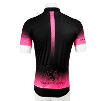 Short Sleeve Jersey Splash2 Black/Shining Pink
