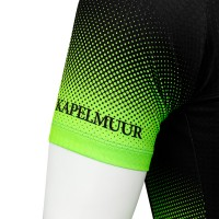 Short Sleeve Jersey Splash2 Black/Shining Green