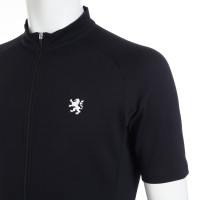 Half-Sleeve Cycling Jersey Element Black