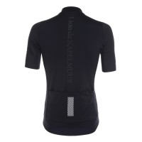 Half-Sleeve Cycling Jersey Advance Black