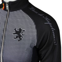Competition Jacket Houndstooth Black