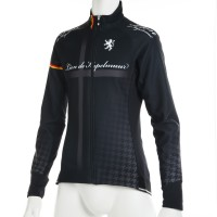 Women's Competition Jacket EVO3 Cross Print Black