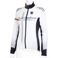 Women's Competition Jacket EVO3 Cross Print White