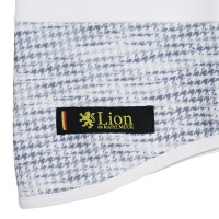 Neck Warmer Houndstooth-Friction White