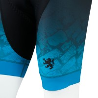 Legge-Fit Cycling Bib Shorts Pave Turquoise