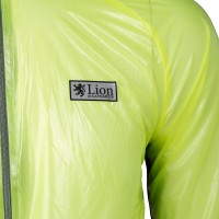 Clear Rain Jacket Shining Yellow
