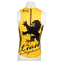 Tri Jersey Houndstooth Yellow