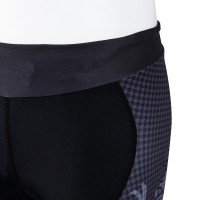 Tri Shorts Houndstooth Coal Black