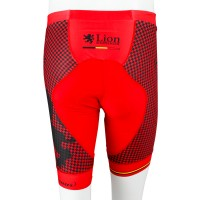 Tri Shorts Houndstooth Red