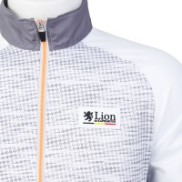 Windbreaker Houndstooth-Friction White