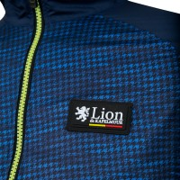 Windbreaker Houndstooth-Friction Navy