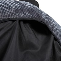 Windbreaker Houndstooth Black