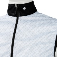 Wind Vest Geometry White