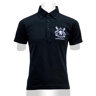 オリジナルエンブレムポロシャツ
