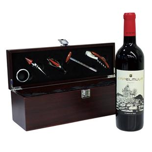 木箱入り ワインツールセット