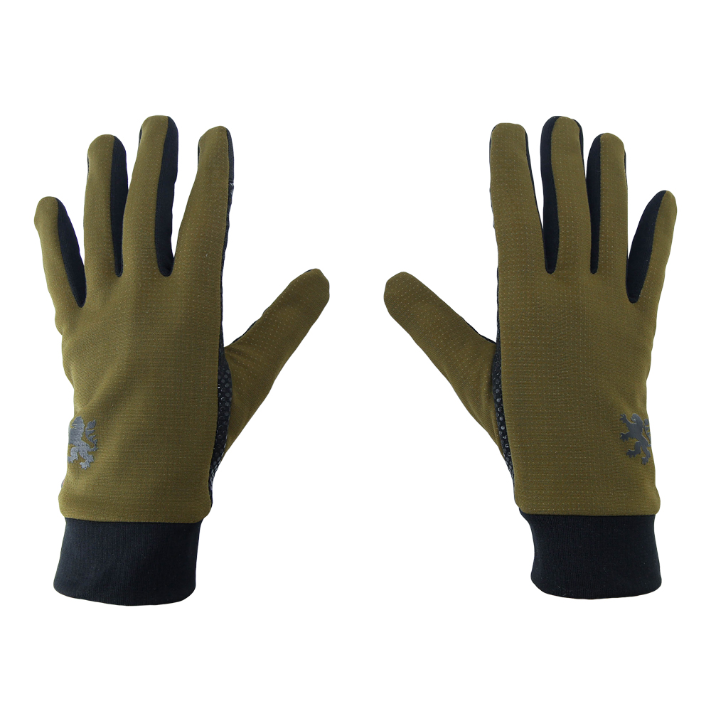Long Finger Cycling Gloves Shining Yellow